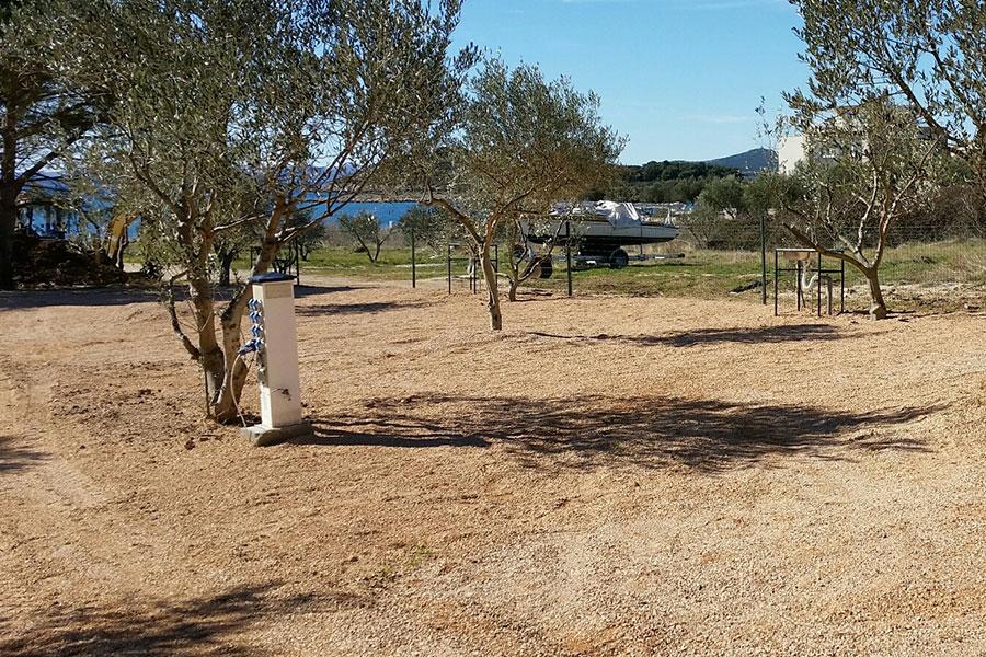 kleiner campingplatz adria